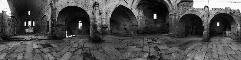 Panoramique 360° : Eglise d' Oradour sur Glane – Village Martyr
