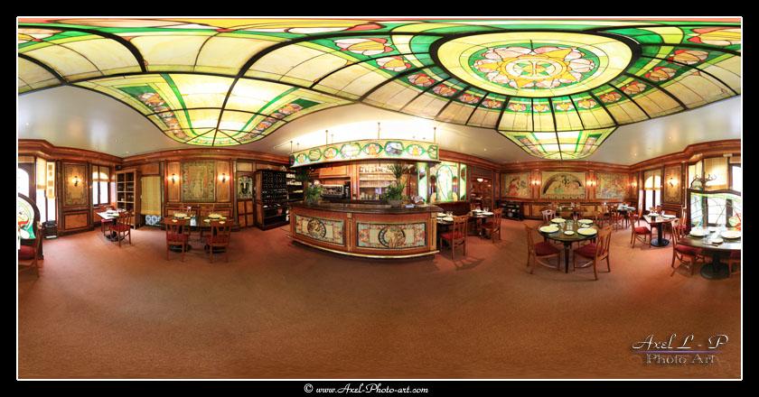 Panoramique virtuel 3D 360° : Restaurant l'Escapade du Gourmet à Limoges