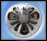 Panoramique virtuel 3D 360° : Palais de Bahia - Marrakech