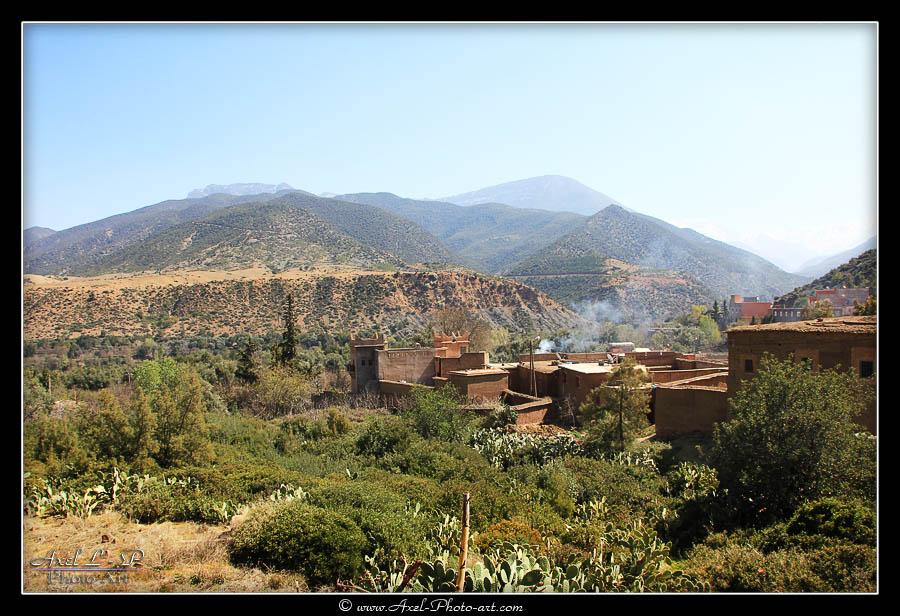 Villages Berbères – vallée de l'Ourika – Maroc