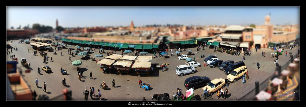 Place Jemaa el fna – Marrakech