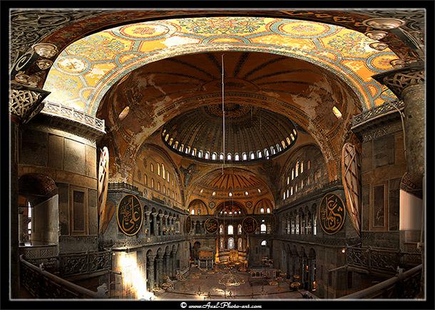 Panoramique 3D 360° : Ayasofya – Musée Sainte Sophie – Istanbul