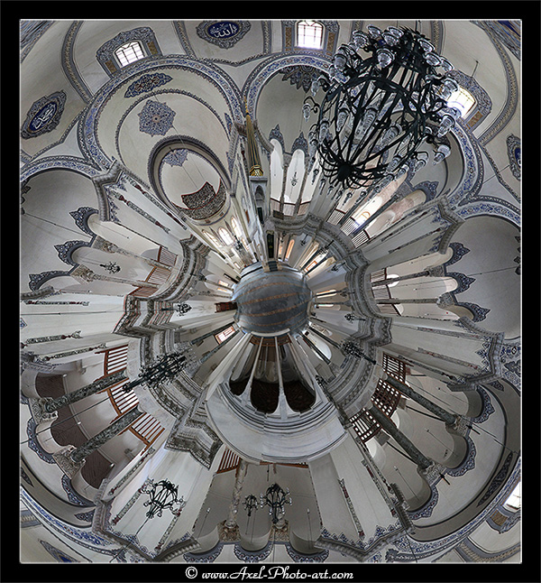 Panoramique 360° : Küçük Aya Sofya Camii (Mosquée Petite Sainte-Sophie) – Istanbul