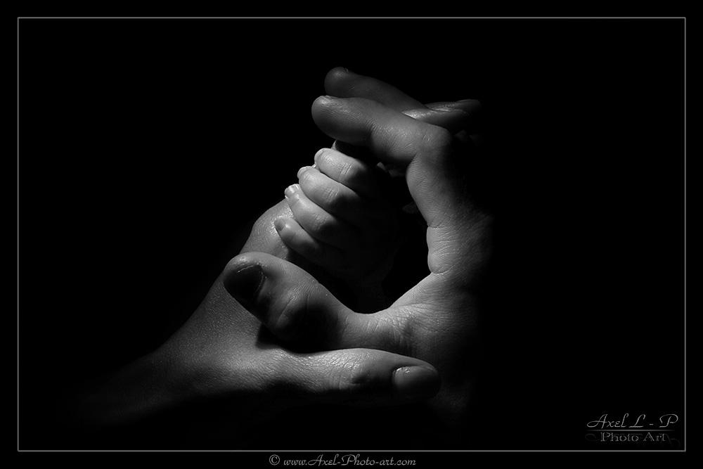 Connu photo bébé noir et blanc | Axel Photo Art JC44