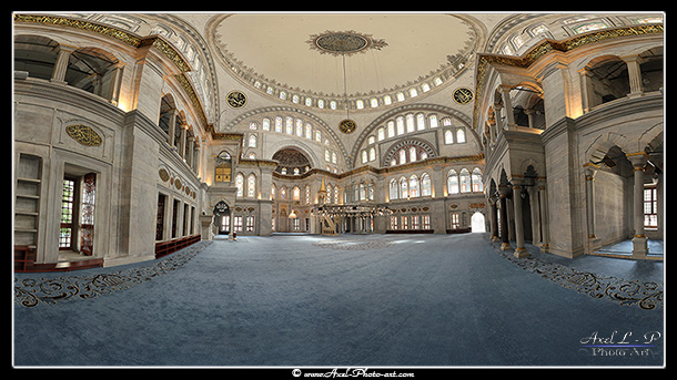 Panoramique virtuel 3D : Mosquée Nuruosmaniye