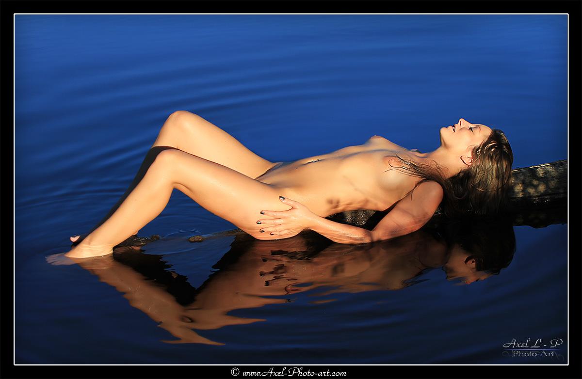 Détente sur l'eau