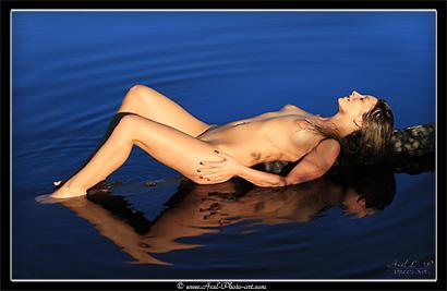 nue lac reflets 410px
