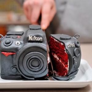 Gateau-Appareil-photo-Nikon-D700