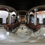 Panoramique 360° : Eglise de Saint-Augustin - (iglesia san agustin)