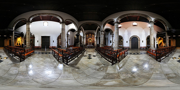 Panoramique 360° : Eglise de Saint-Augustin – (iglesia san agustin)