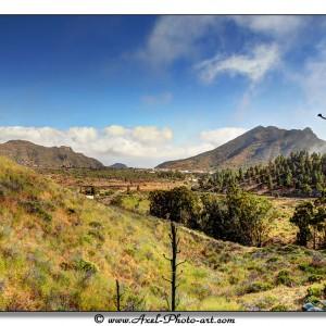 HDR d'un paysage de Tenerife (Iles Canaries)