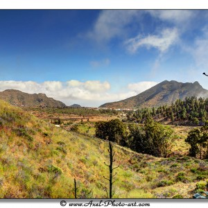 Tenerife - Tirage 60x40 - Cadre 80x60
