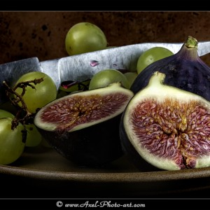 Figues - Tirage 60x40 - Cadre 80x60