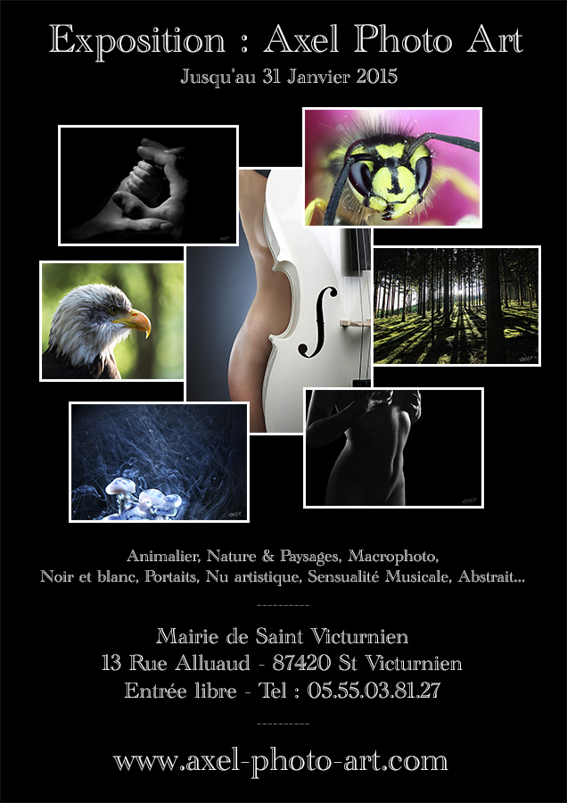 Expo photo Mairie de St Victurnien > Janvier 2015