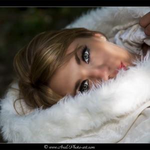Emilie - Chaperon blanc