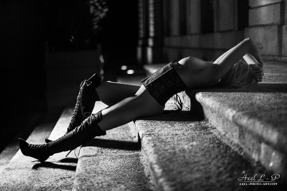 L'escalier sensuel