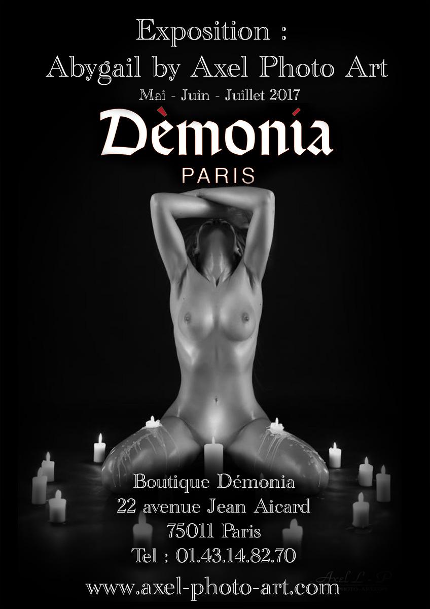 Expo – Démonina Paris – Mai, Juin, Juillet 2017