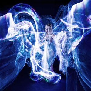 Blondie - Lightpainting