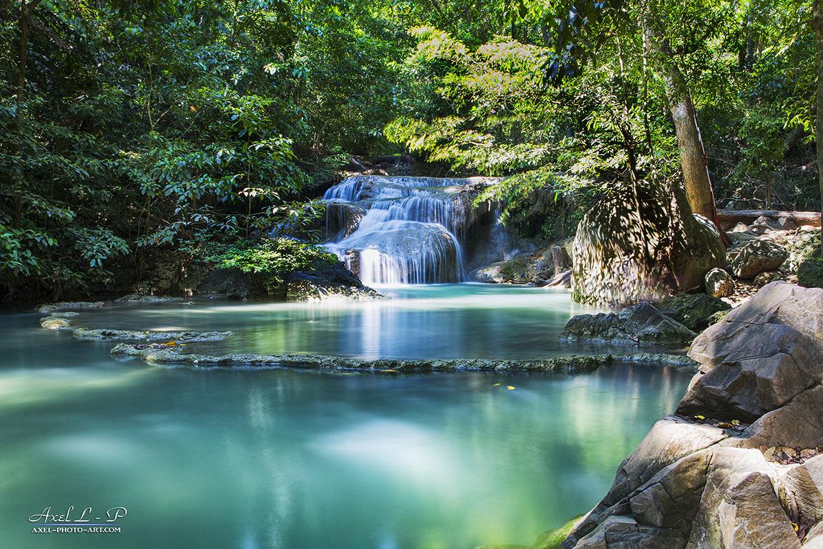 Cascades d'Erawan – Thaïlande