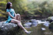 Maylie au bord de l'eau